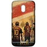 Mott2 Back Case For Micromax Canvas Magnus A117 | Micromax Canvas Magnus A117Back Cover | Micromax Canvas Magnus A117 Back Case - Printed Designer Hard Plastic Case - Barcelona Theme - B075SYXRP9