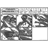 Top Case Träger GiVi Monolock für Aprilia SR50 (97-04)