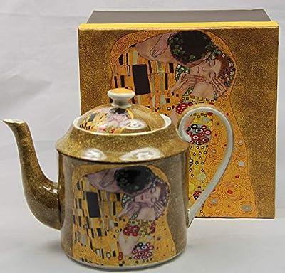 Atelier Harmony Klimt Théière avec boîte Cadeau Typ2 1 l
