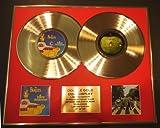 THE BEATLES/Zweifache Goldene Schallplatte DISPLAY/Limitierte Edition/COA/
