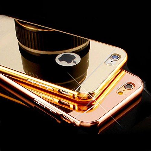 pronuk® Étui en aluminium miroir iphone 6plus/6S Plus or