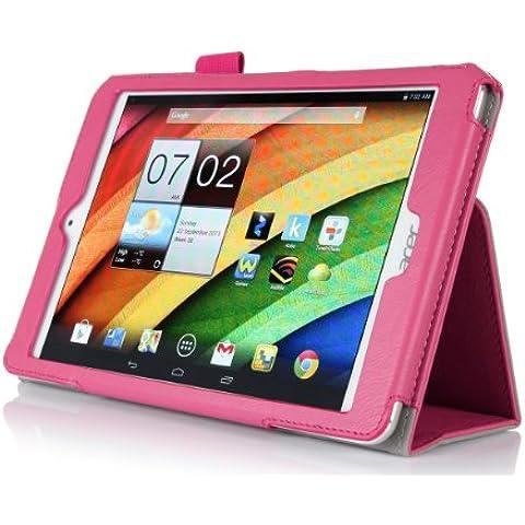 ELTD® Funda de piel de cuerpo entero para Acer Iconia A1 830 Tablet con Auto Sleep/Wake Function (Para Acer Iconia A1 830,