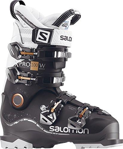 Salomon Botas de esquí para mujer, black-anthracite-white