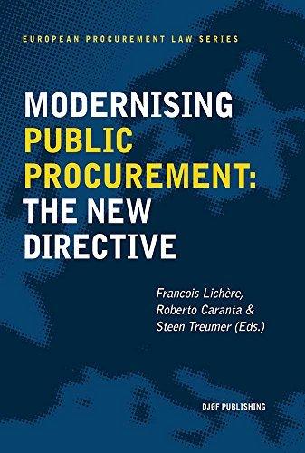 Modernising Public Procurement: The New Directive (European Procurement Law Series) (2014-12-19)