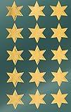 Avery Zweckform 52801 Weihnachtssticker Sterne 30 Aufkleber