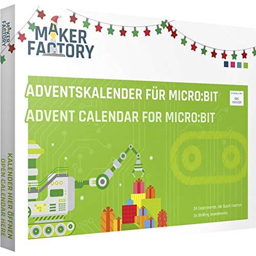 MAKERFACTORY Adventskalender für micro:bit ab 14 Jahre