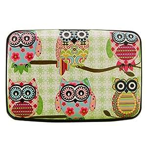 Bluelans® Cute Owl Plastic Credit Card Wallet ID Business Card Holder Case 6 Patterns (#5)