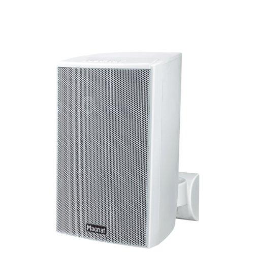 Magnat Symbol Pro 110 I Multifunktionale Musikbox mit Bassreflexgehäuse I 1 Paar 2-Wege-Lautsprecher für Regal- und Wandmontage – Weiß