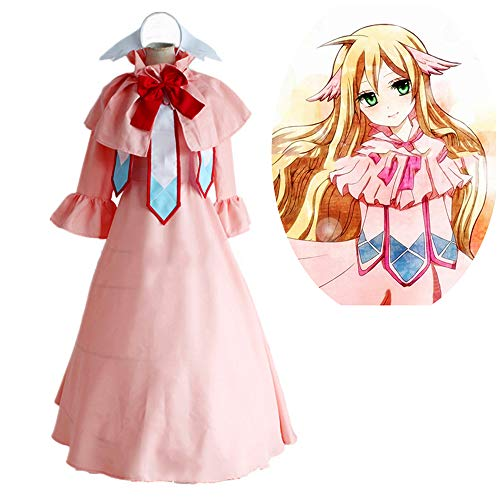 Memory meteor Fairy Tail Cosplay Mavis Vermilion Kleid Anime Kostüm, Leprechaun Military Rock Cosplay Kleidung Master Cosplay Kostüm-Made Uniform,XL (Rock Legenden Kostüm)