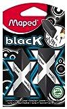 Maped Triangular - Pyramide Eraser - Black