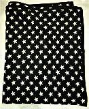 #8: Pet Luxury FurryStars (Double Sided Fleece) Winter Dog Blanket (55