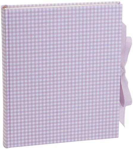 album-m-vichy-rosa-40-fogli-di-cartoncino-foto-e-fogli-intermedi-in-pergamena-libro-per-incollare-fo