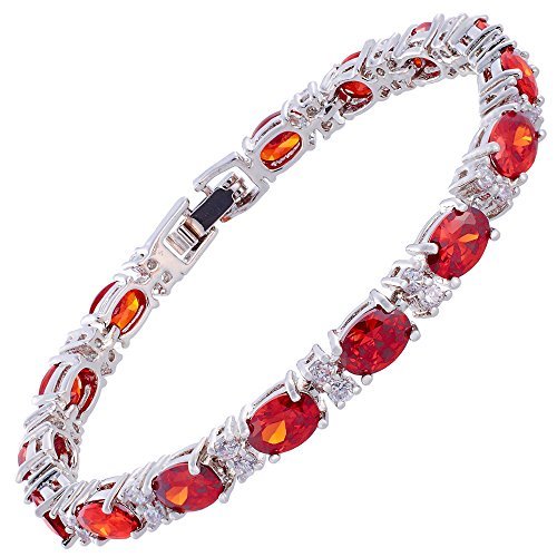 jewellery-oval-cut-red-garnet-gemstones-fine-cz-18k-white-gold-plated-18cm-7inch-tennis-bracelet-sim