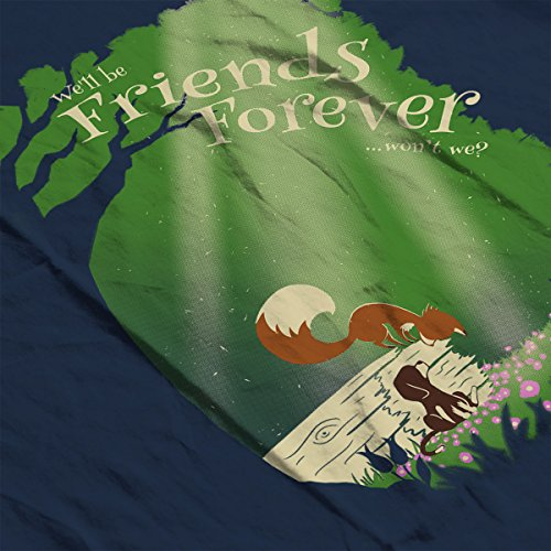 Fox and Hound Friends Forever Men's T-Shirt Navy Blue