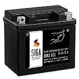 SIGA Bike Gel YTZ7S Motorrad Batterie 12V 6Ah 140A/EN Gel12-7Z-S, TTZ7S-BS, YTZ7S-4