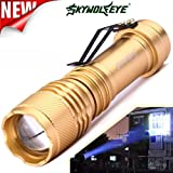 Lifetrend Led Torch Pocket 6000 Lumen Q5 AA/14500 ZOOMABLE LED Flashlight (3 Light Mode Options)