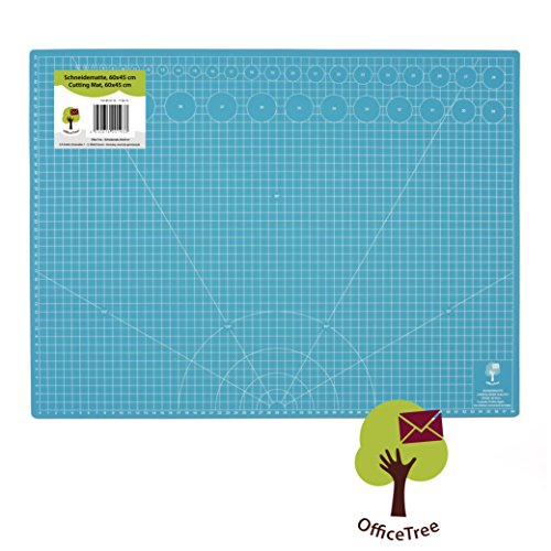 842bd1591 Office Tree® Alfombrilla de corte Cutting Mat – 60 x 45 cm (A2)