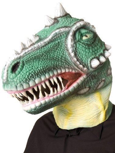 Dinosaurier Maske aus Latex (Kostüm Raptor Dino)
