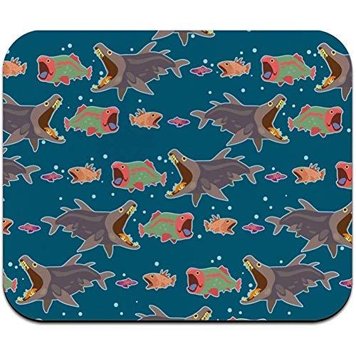 utong Fisch Essen Fischfutter Kettenmuster Low Profile Dünne Mauspad Mousepad