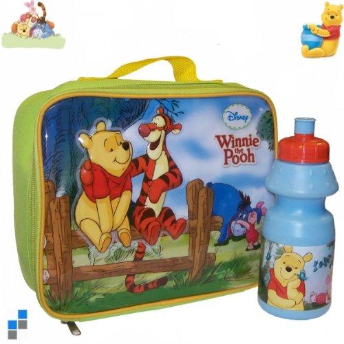 Winnie Pooh Brottasche mit Flasche Kindergartentasche