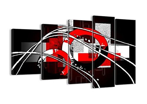Cuadro sobre lienzo - 5 piezas - Impresión en lienzo - Ancho: 150cm, Altura: 100cm - Foto número 0587 - listo para colgar - en un marco - EG150x100-0587