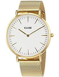Cluse Unisex-Armbanduhr Analog Quarz Edelstahl CL18109