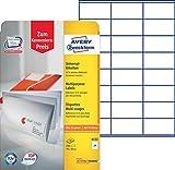 Avery Zweckform 6122 Adressetiketten 10 Blatt weiß