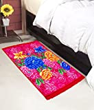 #4: Warmland Floral Polycotton Bed Side Runner - 30