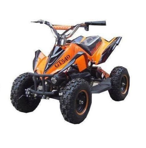 Preisvergleich Produktbild RV-Racing Elektro Quad Miniquad Kinder ATV GT 800W Pocketquad Kinderquad Orange