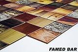 1 PVC Dekorplatte Mosaic Wandverkleidung Platten Wand 95x48cm, FAMED BAR