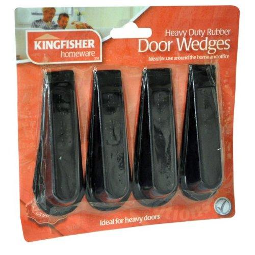 kingfisher-lot-de-4-cale-portes-en-caoutchouc-robuste-et-cadeau-gratuit-ideal-pour-un-usage-repetiti