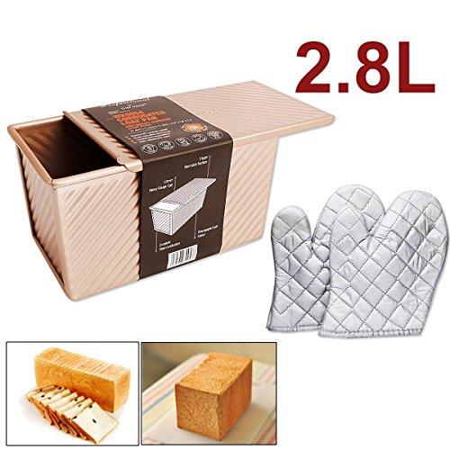 Non-Stick Rechteck Loaf Pan, Kuchen Pizza Pfanne, Backform, Brot Toast Mold Am Besten FüR Zuhause / Backhaus / Hotel Etc.