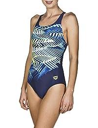 f3a62f9e2479 arena Damen Sport Badeanzug Spike (Schnelltrocknend, UV-Schutz UPF 50+,  Chlorresistent