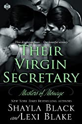 Their Virgin Secretary, Masters of Ménage, Book 6 (English Edition)