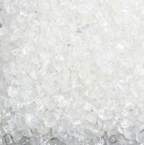 Glas-Steine / Glas-Granulat (4-10 mm), 1 kg, natur-klar Klar-glas