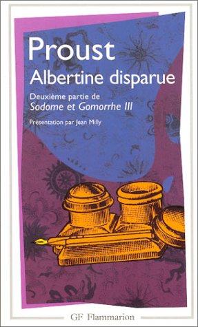 Albertine disparue : Deuxième partie de Sodome et Gomorrhe III