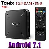 SreeTeK Tanix TX3 Mini L Alice UI Android 7.1 Mini PC, 1GB/8GB Supports
