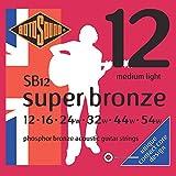 Rotosound CRS SB12 Jeu de Cordes en Bronze 12-16-24-32-44-54