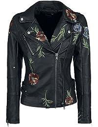 Khujo Walentina Girl-Jacke schwarz