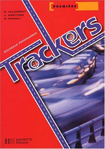 Anglais 1e Trackers : Nouveaux programmes