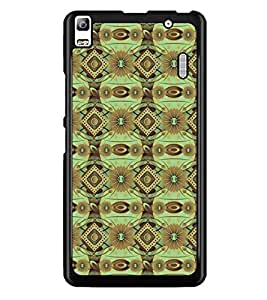 PrintDhaba Pattern D-5245 Back Case Cover for LENOVO K3 NOTE (Multi-Coloured)