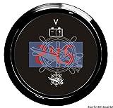 Osculati 27.320.40 - Voltmetro digitale 8/32 V nero/nera (Digital voltmeter 8/32 V black/black)