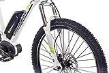 27,5 Zoll E-BIKE Mountainbike Pedelec Elektrofahrrad CHRISSON E-MOUNTER 1.0 BOSCH PLINE & ACERA 3000 weiss 52cm - 6
