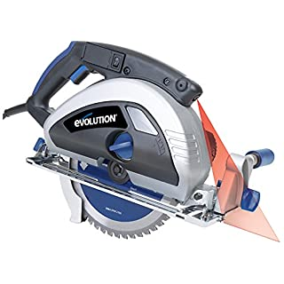 Evolution Power Tools EVO230 Industrial Steel Circular Saw, 230 mm, (230 V)