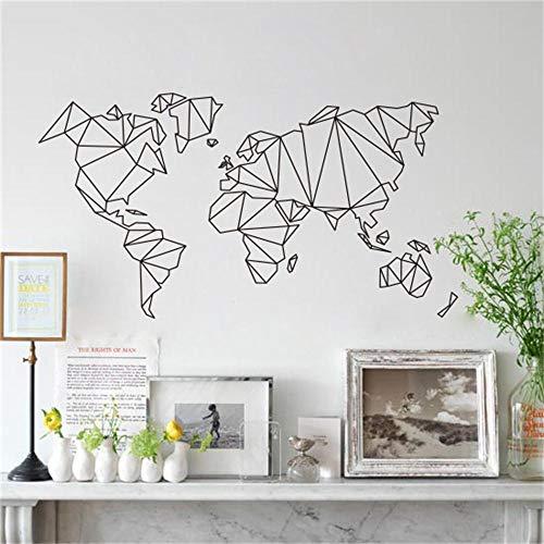 Mapa Mundo Pegatinas pared vinilo adhesivo decorativo