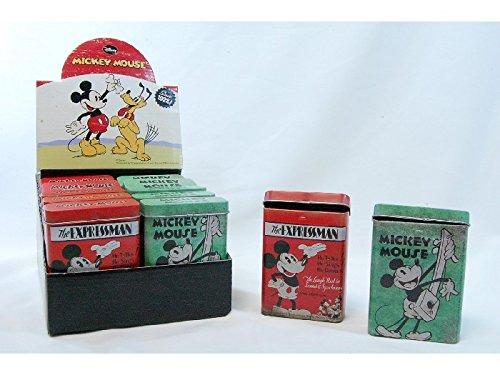 Boîtes cigarettes métal Mickey Mouse / l'unité