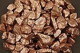 500g Farbige Steine für Aquarium, Deko grau Kies RU6–11M