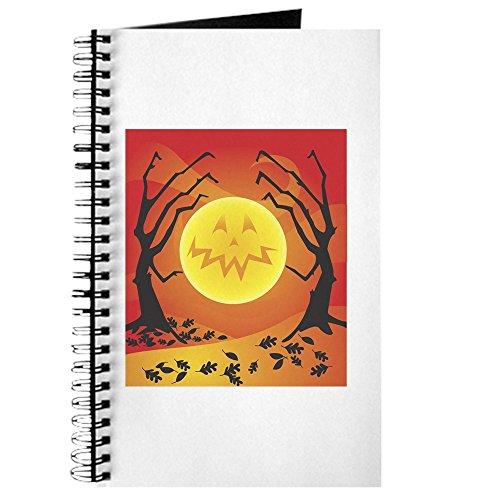 CafePress–Halloween Szene–Spiralbindung Journal Notizbuch, persönliches Tagebuch, liniert