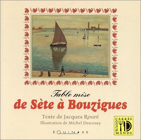 Table mise de Sète à Bouzigues par Rouré