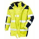 Warnschutz-Parka Toronto wasserdichte, winddichte Arbeitsjacke gelb L